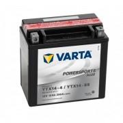 Varta Powersports AGM YTX14-4 / YTX14-BS 12V akkumulátor - 512014