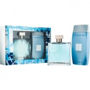 Azzaro Chrome lote de regalo II. eau de toilette 100 ml + gel de ducha 200 ml