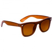 TheWhoop Stylish UV Protected Brown Goggles Wayfarer Sunglasses For Men Women Boys Girls