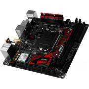 MSI Z170I GAMING PRO AC Intel Z170 LGA 1151 (Socket H4) Mini ITX