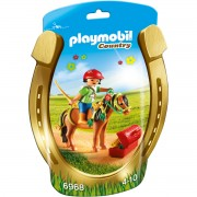 Jucarie PLAYMOBIL Groomer with Bloom Pony