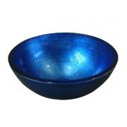 MURANO üvegmosdó, 40x13cm, kék (AL5318-65)