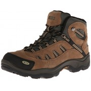 Hi-Tec Men's Bandera Mid WP Hiking Boot Bone/Brown/Mustard 9 3E US