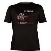 póló Direct Alpine Flash black (my barátja DA)