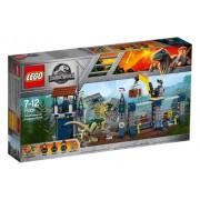 LEGO R Jurassic World Atacul avanpostului cu Dilophosaurus