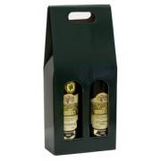 Karton na 2 vína - zelený
