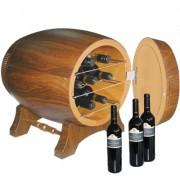Lednice na víno ve tvaru sudu - 20L / 7 lahví