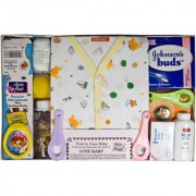 Love Baby Gift Set - Sapna Yellow White
