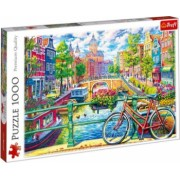 Puzzle oras Amsterdam 1000 piese Topi Dreams