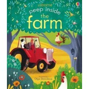 Peep Inside the Farm by Anna Milbourne