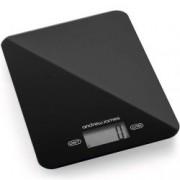 Cantar electronic de bucatarie, negru, Digital Slim Design Andrew James AJ001538