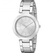 DKNY Quartz Silver Round Women Watch NY2285 DKNY