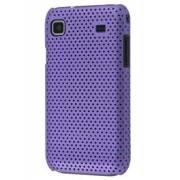 Slim Mesh Case for Samsung I9000 Galaxy S - Samsung Hard Case (Purple)