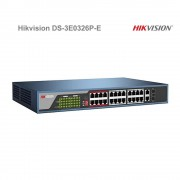 PoE switch Hikvision DS-3E0326P-E 24+2 portový