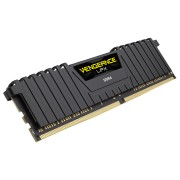 Памет Corsair DDR4, 2400MHz 4GB 1 x 288 DIMM, Unbuffered, 14-16-16-31, Vengeance LPX Black Heat spreader, 1.20V, XMP 2.0, Supports 6th Intel® Core™ i5/i7