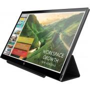 HP EliteDisplay S14 14'' Full HD LED Mat Flat Zwart computer monitor