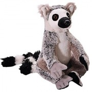 The Petting Zoo Plush Wild Onez Ring Tailed Lemur- 10 Inches With 17 Inch Tail