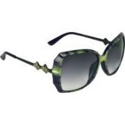 Zyaden Over-sized Sunglasses(Black)
