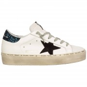 Golden Goose Scarpe sneakers donna in pelle hi star