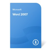 Microsoft Word 2007, 059-07262 certificat electronic
