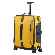 Samsonite Paradiver Light 55cm 4-Wheel Spinner Cabin Duffle Bag - Yellow