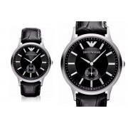 Emporio Armani Men's Emporio Armani AR9100 Black Leather Watch