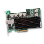 Broadcom MegaRAID SAS 9280-24i4e PCI Express x8 6Gbit/s Controlador Raid (SATA, PCI Express x8, Tamaño Completo, 0, 1, 5, 6, 50, 60, 512 MB, DDR2)