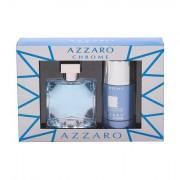 Azzaro Chrome United confezione regalo eau de toilette 50 ml + deodorante stick 75 ml uomo