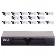 KIT Supravegere Full HD cu 16 camere AVR2116 H.264