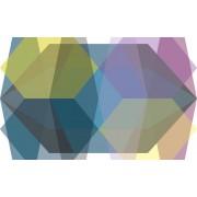 Komar Gem Stone Diamond Vlies Fotobehang 400x250cm 4-banen