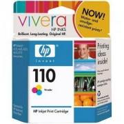 HP 110 ( CB304AE ) Tri-colour Inkjet Print Cartridge with Vivera Inks