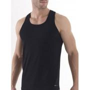 BlackSpade распродажа Удобная мужская майка-борцовка черного цвета из хлопка BlackSpade TENDER COTTON b9236 черный распродажа