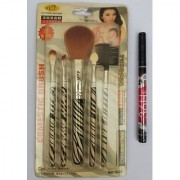 Make Up Brush Set (pack of 5) with sketch pen eyeliner