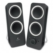 Logitech Z200 Stereo Speakers, 2.0 System, Midnight Black