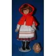 Ashton Drake Porcelain Doll Little Red Riding Hood