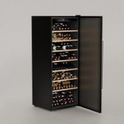 Racitor de vin Cavist 224 sticle silentios usa Anti-UV sistem anti-vibratie temperatura ajustabila 5-22 grade