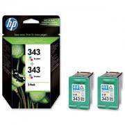 HP Tinteiro (CB332E) Nº343 3 Cores (2xC8766E)