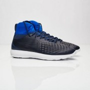 Nike Lunar Magista Ii Flyknit College Navy/College Navy-Racer Blue