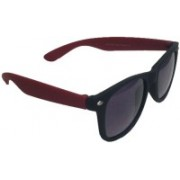 Blue Sky Wayfarer Sunglasses(Black, Red)