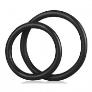 Blue Line Silicone C Ring Set Accessory Black BLM4005