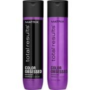 Matrix Total Results Color Obsessed Shampoo (300ml), Conditioner (300ml) och Miracle Treat 12 Lotion Spray (150ml)