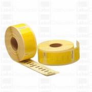 Italy's Cartridge ETICHETTE 11352 GIALLE 54mmX25mm COMPATIBILI ROTOLO DA 400 ETICHETTE PER DYMO Labelwriter 310 320 330 400 450 S0722520