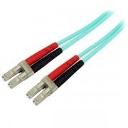 Cable de fibra óptica duplex multimodo OM4 100GB 50/125, 5M