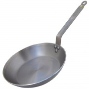 De Buyer Mineral B Black Iron Induction Frying Pan 200mm