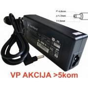 (HP06) ** Gembird punjac za laptop 65W-18.5V-3.5A, 4.8x1.7mm yellow (661) (NPA65-185-3500)