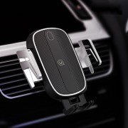 USAMS US-CD100 Full Automatic Touch Wireless Car Charging Bracket (Air Outlet Version)