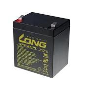 Long 12V 5Ah HighRate F2 ólom-savas akkumulátor (WP5-12SHR F2)