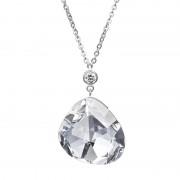 Luxe - Colier de argint Preciosa (Crystal)