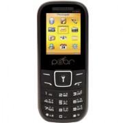 PEAR P1200 DUAL SIM MULTI LANGUAGE SUPPORT BLUETOOTH FM MULTIMEDIA MOBILE PHONE IN BLACK COLOR