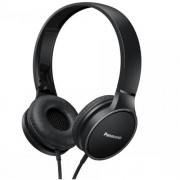 HEADPHONES, Panasonic RP-HF300ME-K, Microphone, Black